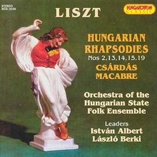 Hungarian Rhapsodies 2,13,14,15,19 / Csardas