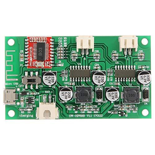 Módulo amplificador Bluetooth Micro USB estéreo con circuito de bricolaje de gestión de carga para proyectos de electrónica de construcción