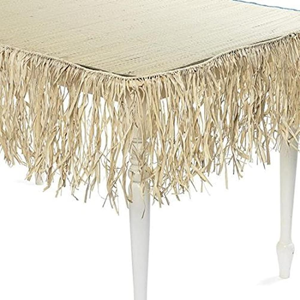 24 feet of 12 inch real raffia fringe by Century Novelty