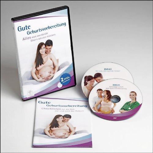 Gute Geburtsvorbereitung : Schwangerschaft, Geburt und Babypflege - alles was Sie vor & nach der Geburt wissen müssen aus 2 DVDs + Büchlein