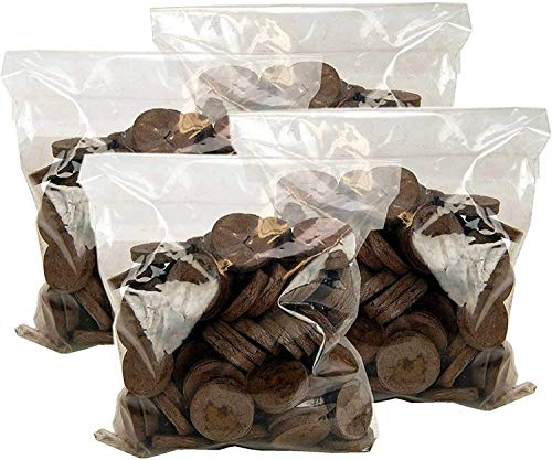 200 Count- Jiffy 7 Peat Soil 42mm Pellets Seeds Starting...