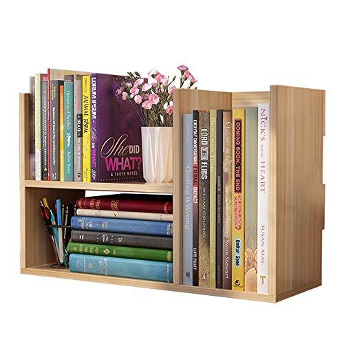 Kanqingqing-Home Estante para Libros Estantería Simple Opcional de Escritorio pequeño for Oficina...