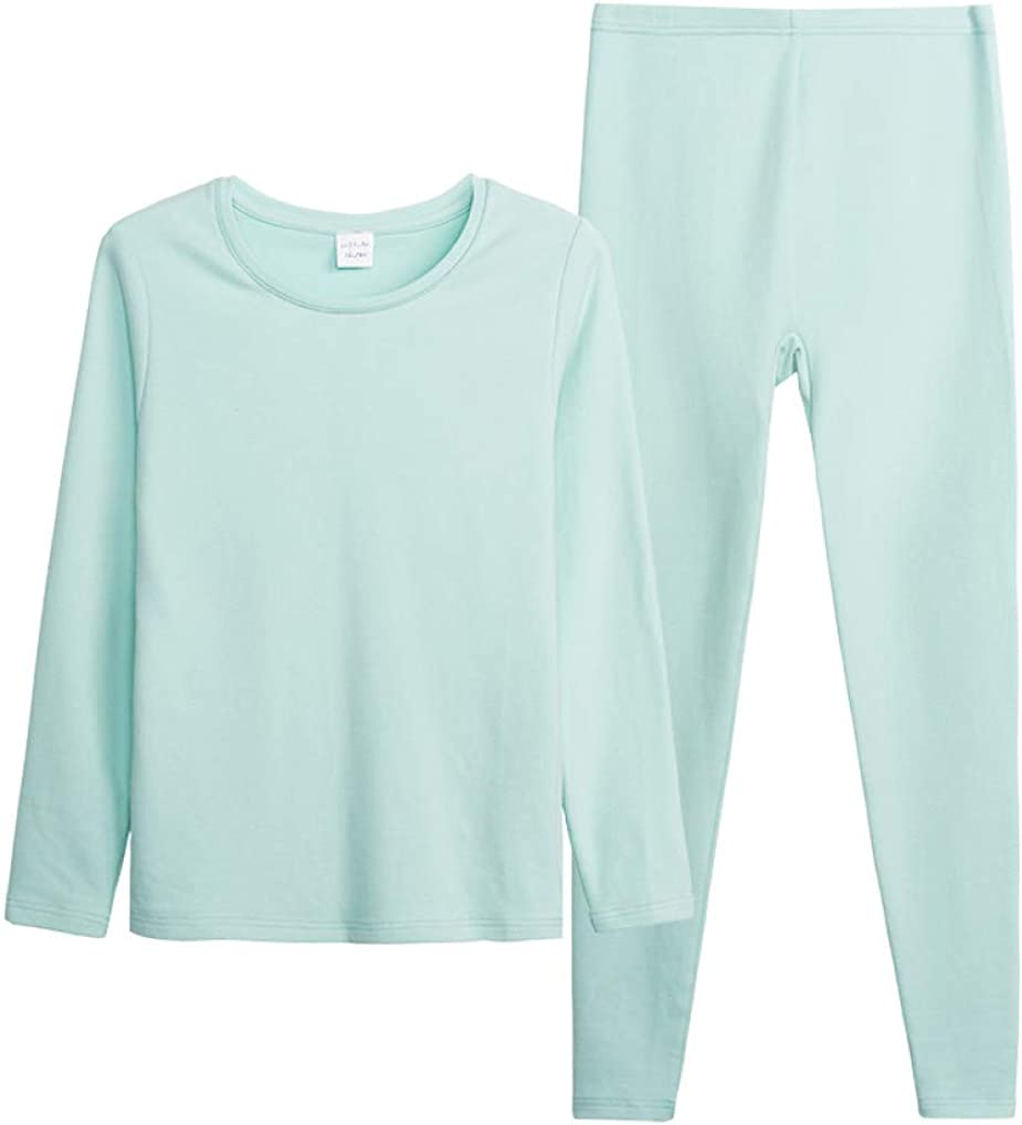 Winter Thermal Underwear Sets Female Body Shaped Slim Ladies Long Johns Female Pajamas Set