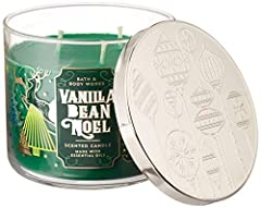 Vanilla Bean Noel Candle Bath & Body Works Large 3-Wick Scented Candle 14.5 oz by White Barn