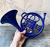 How I Met Your Mother/Blue French Horn/HIMYM/Wall Decor/Romantic Gift/TV Show Prop