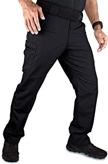 YoMont Men's Military Tactical Cargo Pants, with 14 Accessible Pockets, Straight Fit with Elastic Waistband