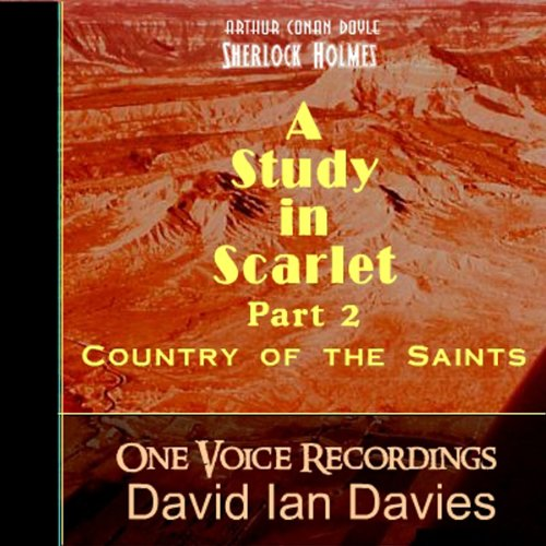 Study in Scarlet, Part Two audiobook cover art