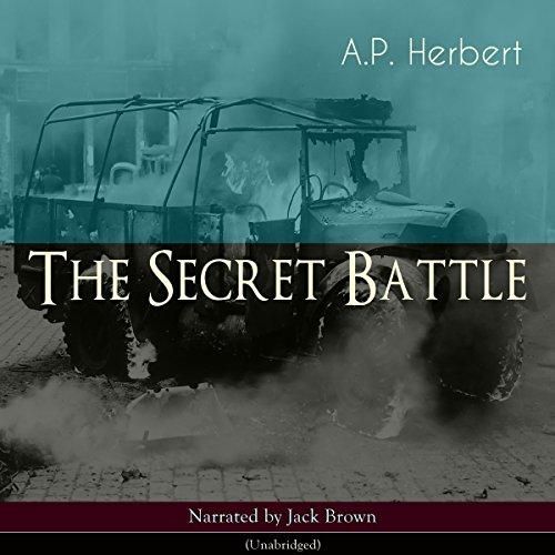 The Secret Battle audiobook cover art