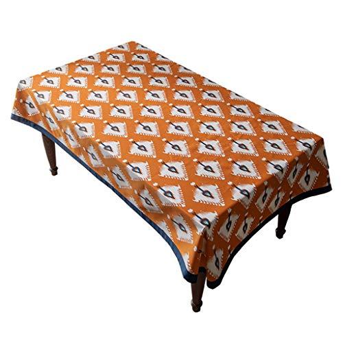 Mantel de algodón de estilo europeo, mesa de comedor para el hogar y mantel de mesa de café, restaurante del restaurante, adecuado para decoración del hogar, cocina de mesa de jardín, cena de fiesta d
