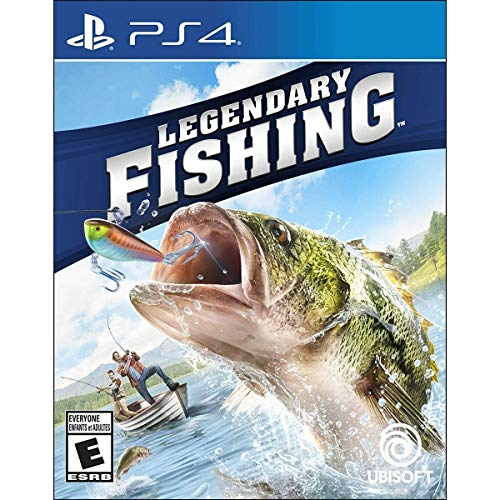 Legendary Fishing Ps4- Playstation 4