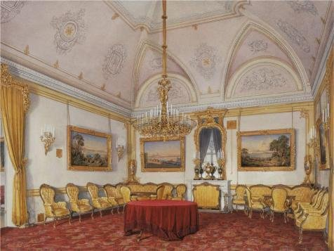 The Perfect Effect Canvas Of Oil Painting 'Hau Edward Petrovich,The Third Reserved Apartment,The Drawing Room,1807-1887' ,size: 20x27 Inch / 51x68 Cm ,this Reproductions Art Decorative Canvas Prints Is Fit For Basement Artwork And Home Gallery Art And Gifts