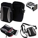 Für Ricoh WG-M 2 Gürtel Tasche Holster Umhänge Tasche Fototasche Schutz Hülle Für Ricoh WG-M 2,...