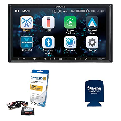 Alpine ILX-W650 7-Inch Receiver with SWI-CP2 Steering Wheel Interface