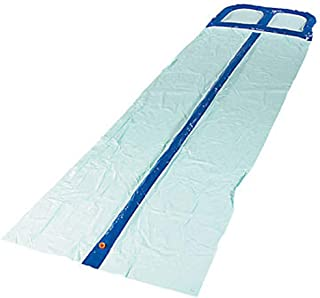 Inflatable Water Slip And Slide With Water Spraying Channels 2 lanes size 52