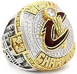 clarisk Men's 2016 Basketball Cleveland Cavalier Championship Ring Fashion Personality Souvenir Men's Titanium Steel Rings Size 12