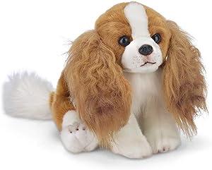 Bearington Sadie Cavalier King Charles Spaniel Plush Stuffed Animal Puppy Dog, 13 inch