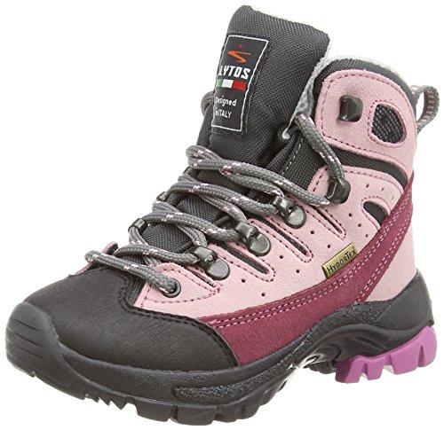 LYTOS Kinder Wanderschuhe Trekkingschuhe rosa, Farbe:Rosa, Größe:29