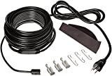 Frost King RC200 Automatic Electric Roof Cable Kits, 200ft x 120V x 5 Watts/ft, 200 Feet, Black