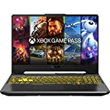 ASUS TUF A15-TUF566IV-AL139T PC Portable 15,6'' FHD 144Hz (AMD Ryzen R7-4800H, RAM 16Go DDR4 (8Go x 2), 1To SSD, Optimus NVIDIA GeForce RTX 2060 GDDR6 6GB, Windows 10) Clavier AZERTY Français