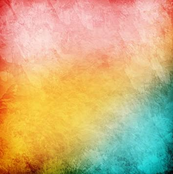 7x7FT Vinyl Backdrop Photographer,Tie Dye,Abstract Artsy Composition Background for Baby Shower Bridal Wedding Studio Photography Pictures
