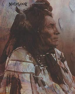Notebook (Native American Lined notebooks - Crow)