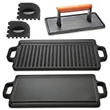 Cast Iron Griddle with Accessories Includes...