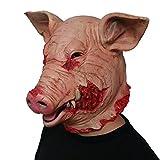 Halloween Scary Mask Horrible Creepy Costume...