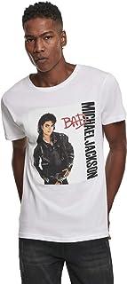 MERCHCODE Michael Jackson Bad - Camiseta Hombre