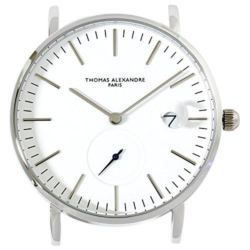 Thomas Alexandre ] Armbanduhr Französische Marke Einfacher Wechsel Gürtel separat erhältlich Herren/Damen Minimal