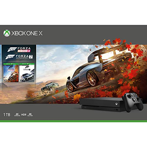 Console Xbox One X 1TB - Forza Horizon 4 + token digital Forza Horizon 4 LEGO® Speed Champions