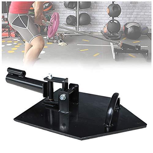 Fitnesszubehör, schwarzer T-Bar Row Insert 360 Grad drehbare Langhantel für das Krafttraining der Schulterpresse