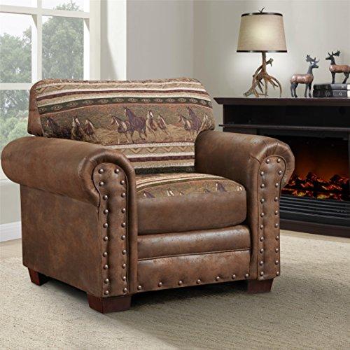 American Furniture Classics Wild Horses Chair