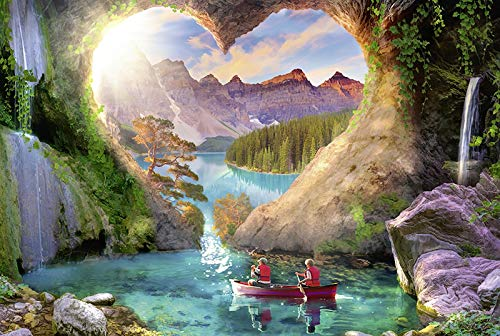 1000 stukjes puzzel For Kids, Gorgeous Scenery Home Decoration puzzel, Educatieve Intellectual Decompressing Fun Family Game (Color : D)