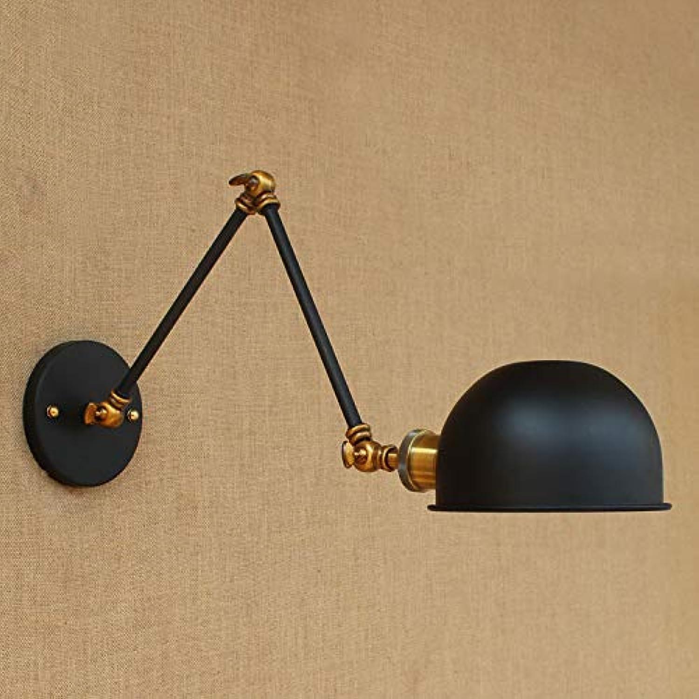 StiefelU LED Wandleuchte nach oben und unten Wandleuchten Schlafzimmer Wandleuchte halb dunklen Schlafzimmer Arbeitszimmer Wandleuchten, B 0501 L die Hlfte schwarz 20 +20 cm