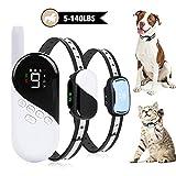 Dog Training Collar - Rechargeable Dog Shock Collar w/3 Modes, Beep, Vibration