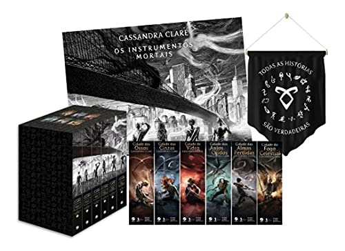 Box Os Instrumentos Mortais (acompanha Flamula, Poster E Marcadores)