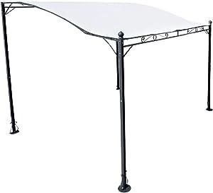 AS-S Pavillon de Surface de Mur 3 x 2,5 mètres, Toit 100% Waterproof imperméable, UV30+, 7107 de
