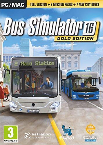 Bus Simulator 2016 Gold Edition (PC DVD) [Edizione: Regno Unito]