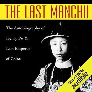 The Last Manchu audiobook cover art