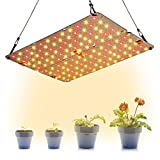 Dommia LED Grow Light Panel for Indoor Plants, 20W DIY Plant Lights with Red & Warm White Full...