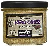 charles antona terrine de veau corse aux olives 100 g - lot de 3