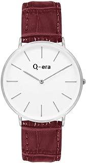 Q-era Brown Leather Women's Watch - QV2804-5