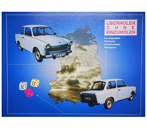 Überholen ohne Einzuholen - Ein Zeitgemäßes Würfelspiel mit historische Hintergrund. Altes Spiel aus der ehemaligen DDR. Top Rarität