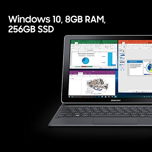 12-inch Samsung Galaxy Book 8GB RAM 256GB SSD 2-in-1 Laptop (2019)