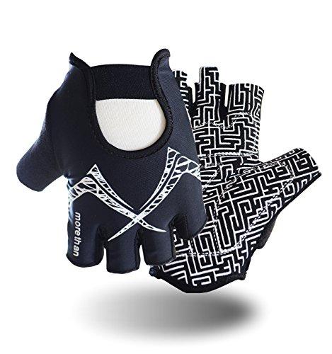 Fitness Gloves, Anti-skid GYM Training Gripper Gloves Callus Guard...