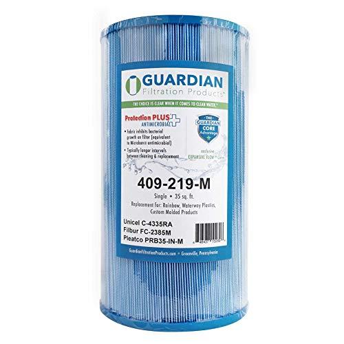 Guardian Pool Spa Filter ersetzt Unicel C-4335 - Pleatco Prb35-In - Fc-2385 - Rainbow Dynamic Series IV