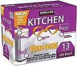 Kirkland 13 Gallon Trash Bag, 200 Count,...