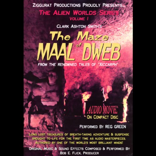 The Maze of Maal Dweb audiobook cover art