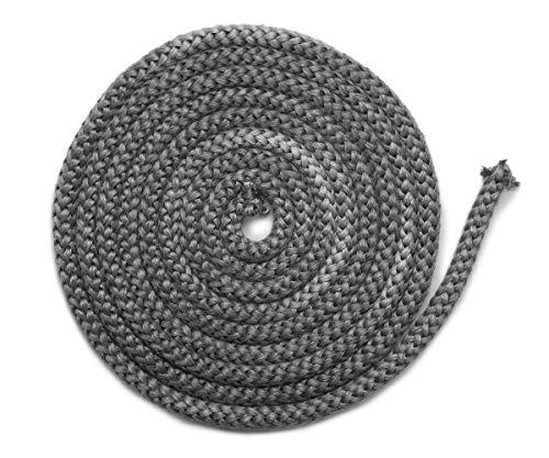 Joint de cheminée 3 m, Ø 10 mm, joint de porte non autocollant, convient pour poêles Justus et Oranier