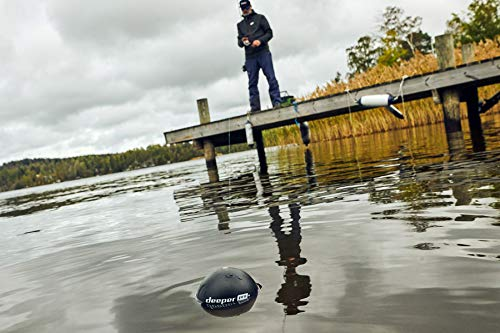 Deeper PRO+ Smart Sonar - GPS Portable Wireless Wi-Fi Fish Finder for Shore and Ice Fishing